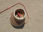 Artefato parecido com bomba é encontrado na MG-050 em Divinópolis