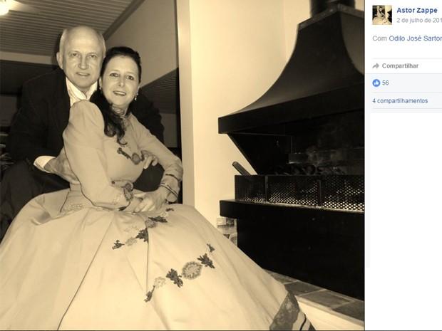 Casal iria visitar neta com família em Porto Alerge (Foto: Reprodução/Facebook)