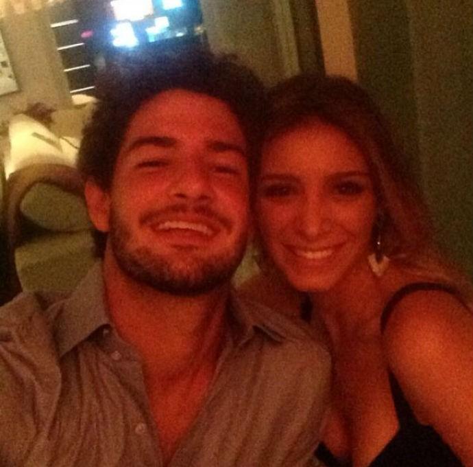 Alexandre Pato e a namorada Sophia Mattar (Foto: Reprodução/Instagram)