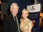 J.K. Rowling sobre morte de Alan Rickman: 'Chocada e devastada'