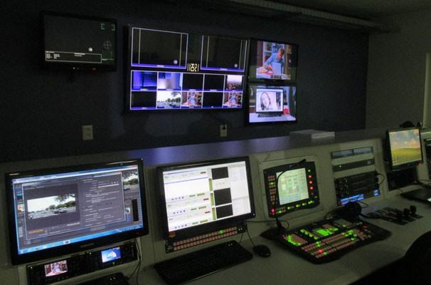 especial 'Por Trás das Câmeras' mostra como funciona o Switcher. (Foto: André Santos/TV Clube)
