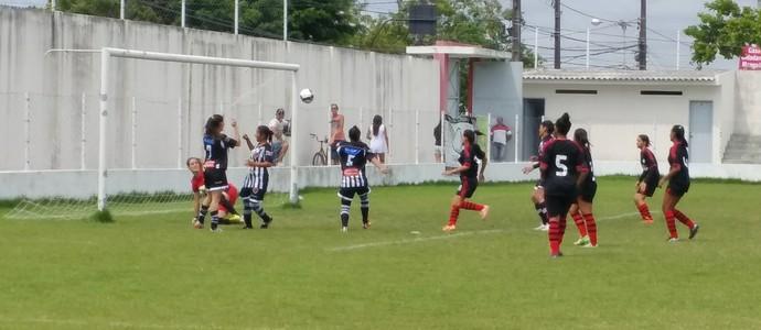 Botafogo-PB feminino (Foto: Larissa Keren / GloboEsporte.com/pb)