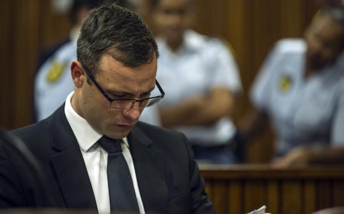Oscar Pistorius, julgamento - AP (Foto: AP)
