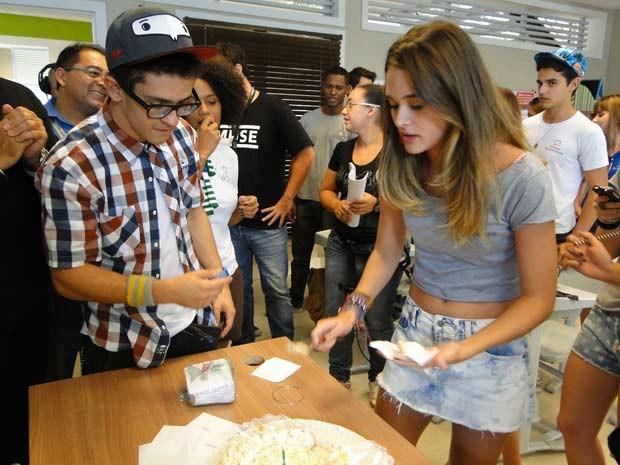 Niver Ju  (Foto: Malhação / TV Globo)