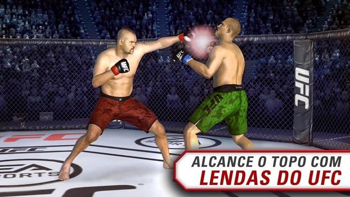 UFC é o melhor jogo de luta de 2015 (Foto: Divulgação / EA)