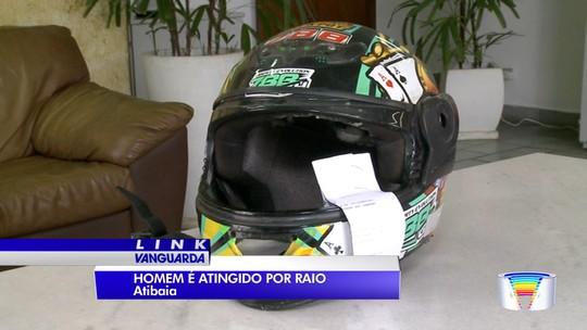 Motociclista morre atingido por raio na rodovia Dom Pedro em Atibaia, SP