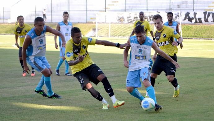 ABC x CSP - jogo-treino (Foto: Jocaff Souza/GloboEsporte.com)