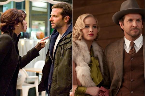 Nos últimos 3 anos, Jennifer Lawrence e Bradley Cooper fizeram 3 filmes juntos, representando um casal em dois deles. Além de 'Serena', que estreia esse ano, os atores já estiveram juntos em 'O Lado Bom da Vida' (2012) e 'Trapaça'(2013) (Foto: Divulgação)