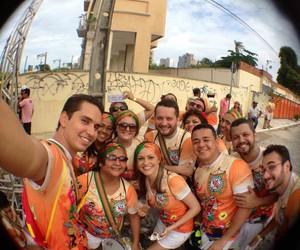 Veja galeria de 'selfies' no pré-carnaval (Eduardo Campos/Arquivo Pessoal)