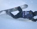 Astro americano do snowboard cai de cara na neve em seletiva para Sochi