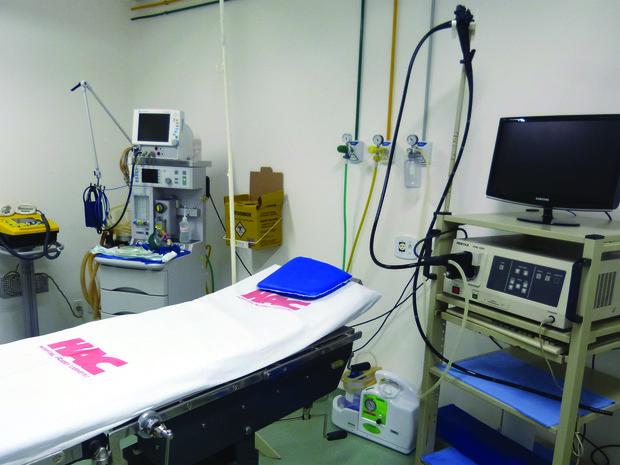 Sala do Centro de Diagnóstico inaugurada no Alcides Carneiro (Foto: Divulgação)