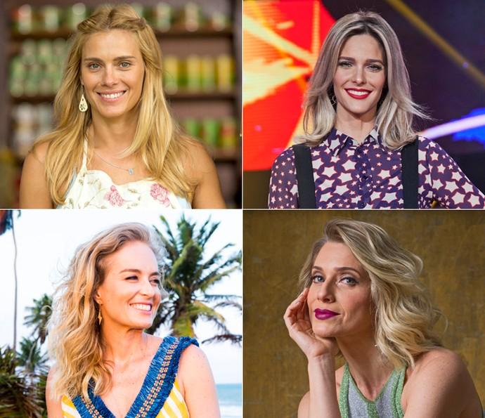 Lindas e loiras! Confira as dicas preciosas do hairstylist das famosas para ter o cabelo perfeito! (Foto: TV Globo)
