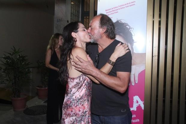 Claudia Mauro e Paulo Cesar Grande (Foto: Thyago Andrade/Foto Rio News)