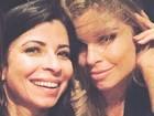 Anna Lima e Grazi Massafera fazem charme em foto e ganham elogios