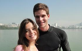 Giovanna Lancellotti e Jonatas Faro gravam momentos finais de Insensato Coração