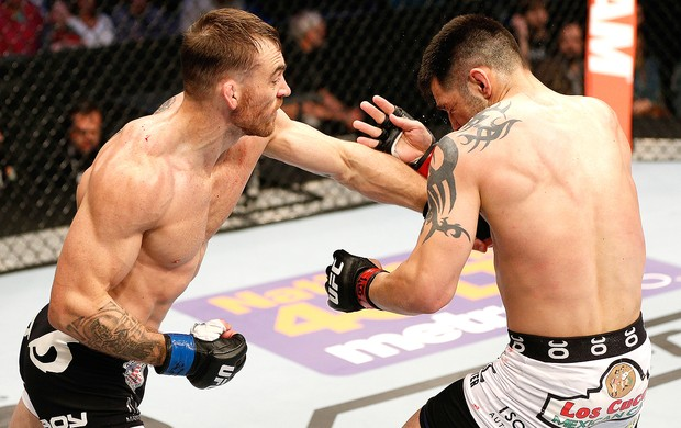 Robert Whiteford luta UFC 171 (Foto: Getty Images)