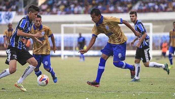 CSA x Porto-PE (Foto: Ailton Cruz/Gazeta de Alagoas)