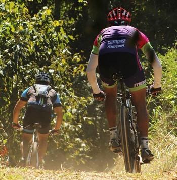 5ª etapa do Campeonato Acreano de Mountain Bike (Foto: Andreia Ribeiro/Arquivo pessoal)