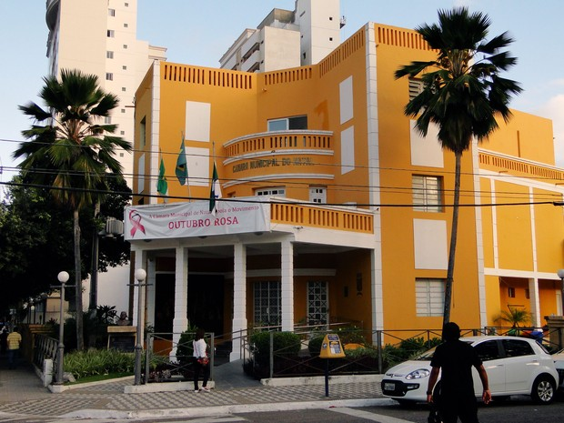 Palácio Frei Miguelinho, sede da Câmara de Vereadores de Natal (Foto: Ricardo Araújo/G1)