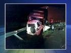 Estudante morre após colisão frontal entre carro e carreta em Pongaí