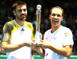 Tênis, Bruno Soares e Colin Fleming, ATP de Auckland, na Nova Zelândia (Foto: Getty Images)