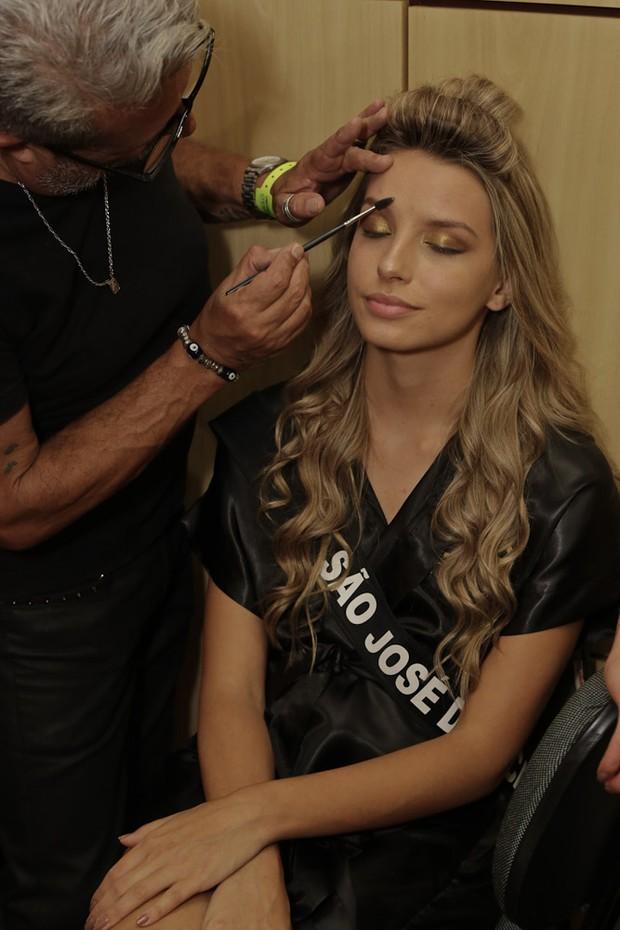 Preparativos para o concurso Miss São Paulo 2017 (Foto: Cláudio Augusto/Brazil News)