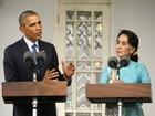 Obama apoia líder opositora Suu Kyi e pede eleições livres em Mianmar