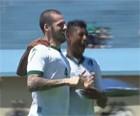 Goiás goleia o Joinville por 3 a 0 em casa (Reprodução/TV Globo)