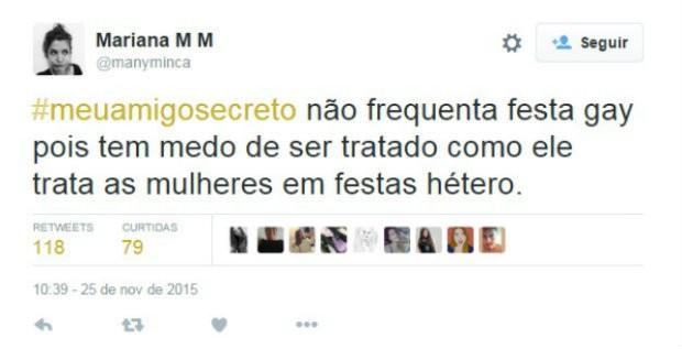 #meuamigosecreto 2 (Foto: Reprodução/Twitter)