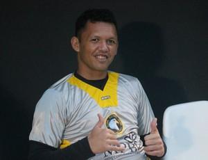 Messi - goleiro do Globo FC (Foto: Canindé Pereira/Divulgação)
