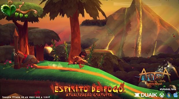 Game brasileiro 'Aritana e a Pena da Harpia' foi lançado para Xbox One com visual melhorado e novas mecânicas (Foto: Divulgação/Duaik)