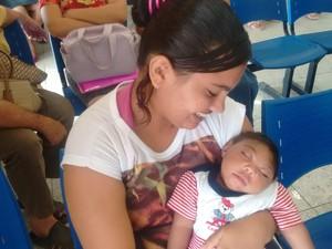 Bebês com microcefalia no Recife (Foto: Artur Ferraz/G1)