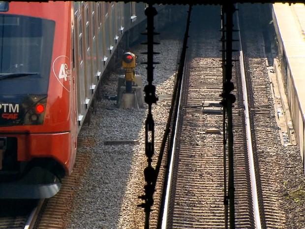 Cartel nos trens de São Paulo (Gnews) (Foto: Reprodução GloboNews)
