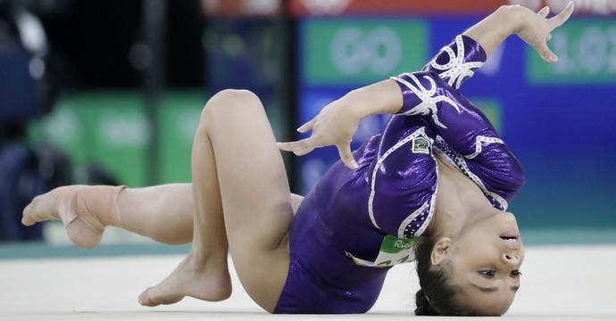 Flavia Saraiva; ginástica artística; brasil; olimpíadas (Foto: Julio Cortez/AP Photo)