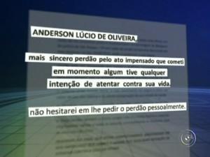 Cotovelada em São Roque (Foto: Reprodução/TV TEM)