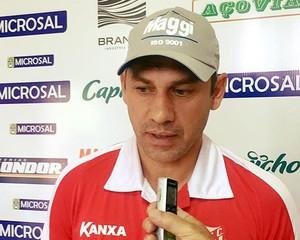 Antônio Picoli Treinador Técnico Capivariano Leão da Sorocabana (Foto: Lucas Oliveira / Capivariano FC)