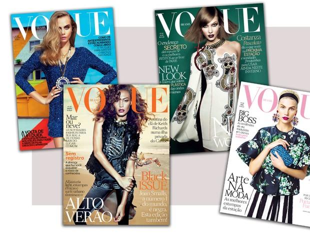 Capas - Vogue (Foto: Reprodução)