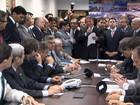 Líderes protocolam pedido para instalar a CPI de Carlos Cachoeira