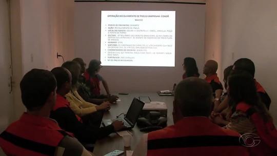 Campanha contra o Aedes aegypti recolhe pneus em Maceió e interior