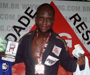Bruno Reis atleta de jiu jitsu em Claudio (Foto: Bruno Reis/Arquivo Pessoal)