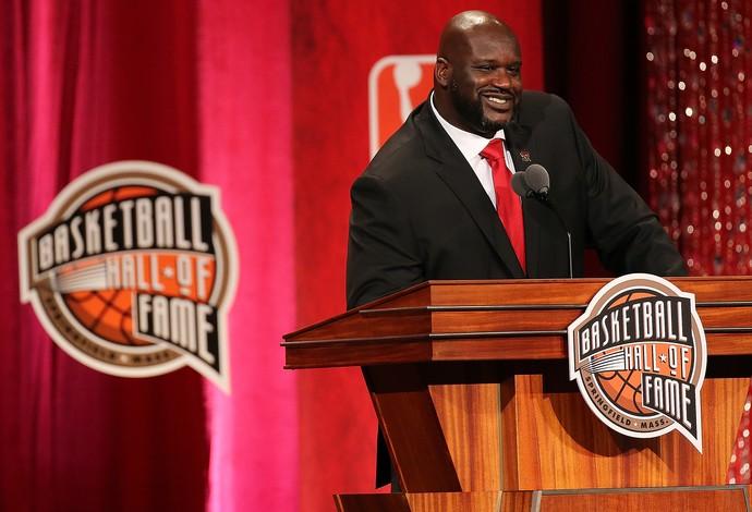Shaquille O'Neal entrou para o Hall da Fama da NBA (Foto: Getty Images)