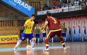 Sem Falcão, Marcênio herda a camisa 12 da seleção e mira título no Paraguai