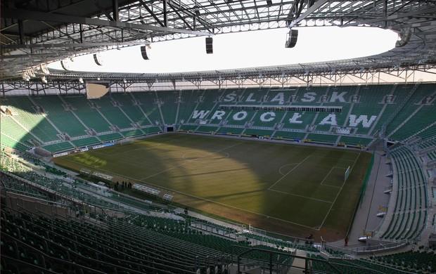 Estádio Wroclaw de Breslávia. (Foto: Agência Getty Images)