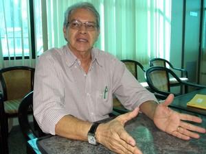 Nazareno de Deus, diretor-geral do Itep (Foto: Caroline Holder/ G1)