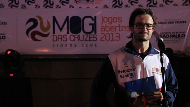 Cerimônia de Abertura - Jogos Abertos 2013 - Mogi das Cruzes (Foto: Thiago Fidelix)
