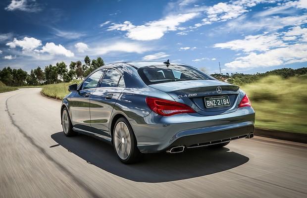 Mercedes-Benz CLA 200 First Edition (Foto: Rafael Munhoz / Autoesporte)