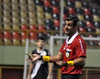 Carlos Ronne Casas, árbitro do Acre (Foto: Manoel Façanha/Arquivo pessoal)