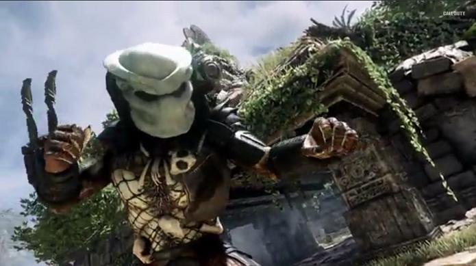 Predador estará presente no DLC Devastation de Call of Duty: Ghosts. (Foto: Reprodução/YouTube)