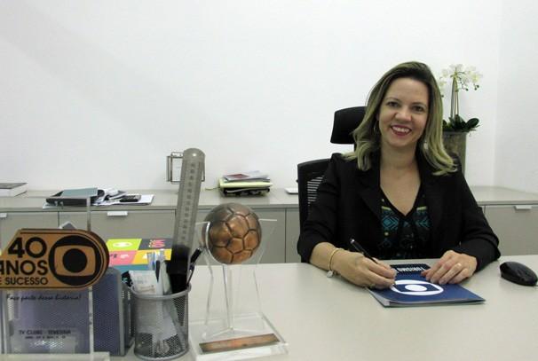 Flávia Fernanda relembra trajetória de mais de 19 anos de trabalho na TV Clube (Foto: TV Clube)