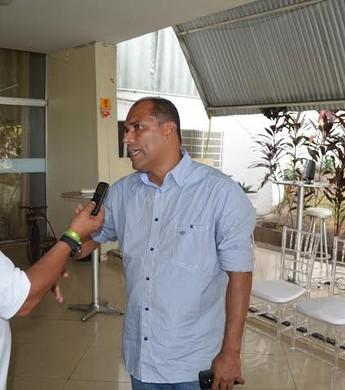 Marcelo Rocha deixa Tapajós nesta terça-feira (5) (Foto: Dominique Cavaleiro/ GloboEsporte.com)